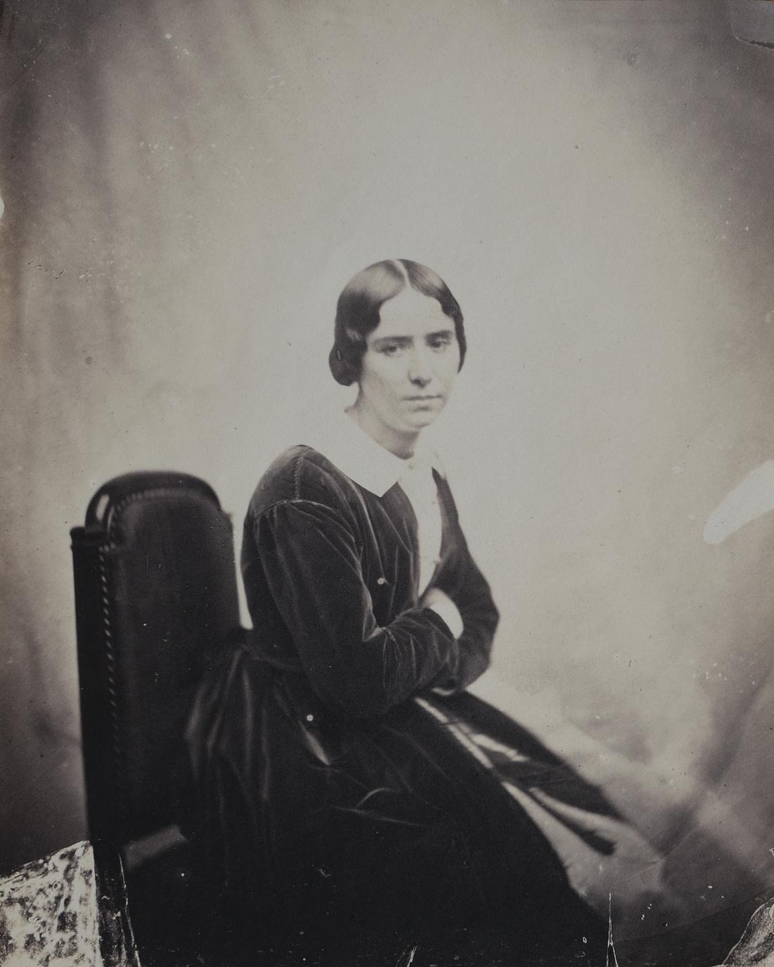Portrait de l'actrice Rachel - Patrimoine Charles-André COLONNA WALEWSKI