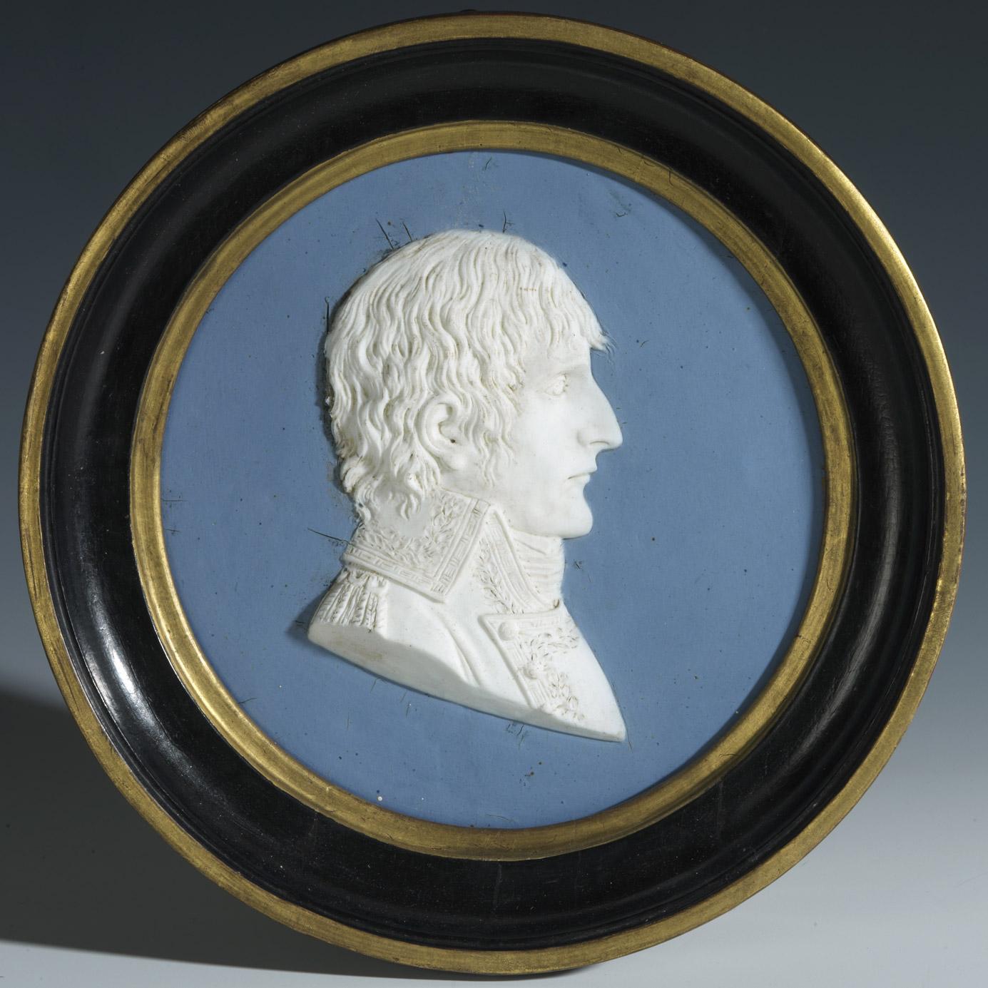 Profil du général Bonaparte - Patrimoine Charles-André COLONNA WALEWSKI, en ligne directe de Napoléon
