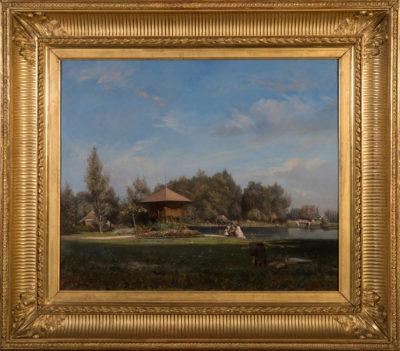 Résidence de la princesse Mathilde au bord du Lac d'Enghien