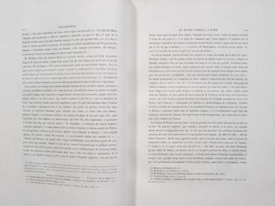Description marbres antiques - Patrimoine Charles-André COLONNA WALEWSKI