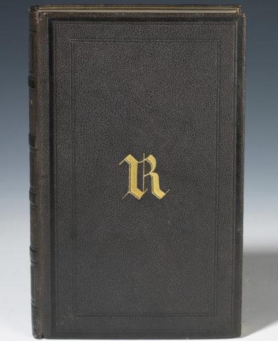 Oeuvres de Tacite au chiffre de Rachel - Patrimoine Charles-André COLONNA WALEWSKI, en ligne directe de Napoléon