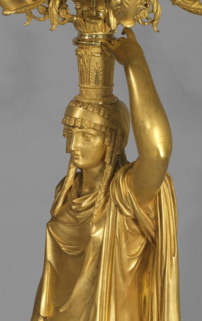 Thomire : Paire de candélabres - Patrimoine Charles-André COLONNA WALEWSKI, en ligne directe de Napoléon