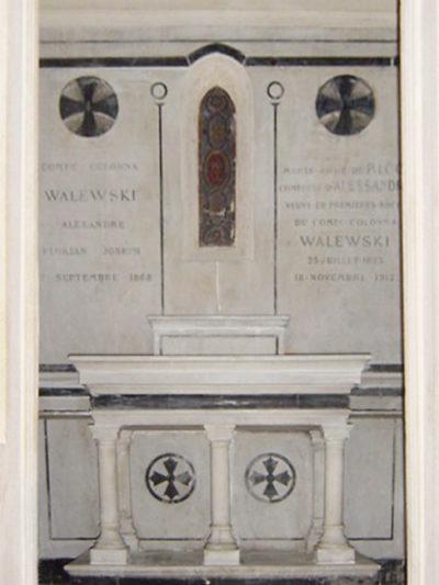 Chapelle de la famille Colonna Walewski - Patrimoine Charles-André COLONNA WALEWSKI, en ligne directe de Napoléon